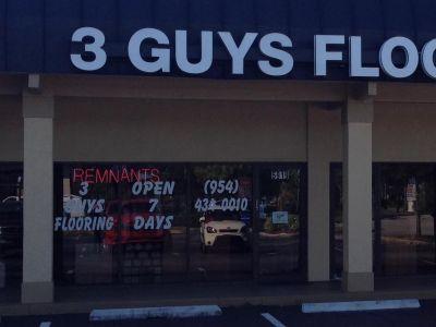 3 Guys Flooring - 5919 S University Dr Davie, FL 33328
