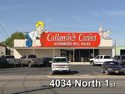 Callaway's Carpet - 4034 N 1st St Abilene, TX 79603