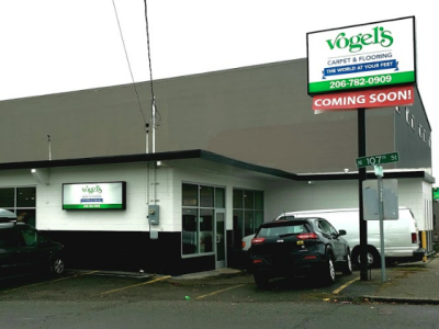 Vogel's Carpet & Flooring - 10560 Aurora Ave N Seattle, WA 98133