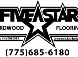 Five Star Hardwood Flooring - 625 Spice Islands Dr Suite A Sparks, NV 89431