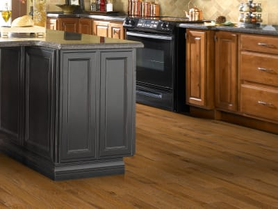 Room Scene of Pebble Hill Hickory 5 - Hardwood by Shaw Flooring