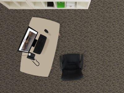 Room Scene of Orion - Carpet by Engineered Floors