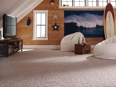 Room Scene of Natural Perception I - Carpet by Mohawk Flooring