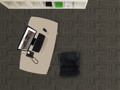 Room Scene of Fiesta Modular - Carpet by Engineered Floors