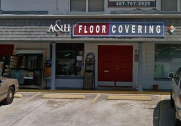 A & H Floor Covering - 65 N Griffin Dr, Casselberry, FL 32707