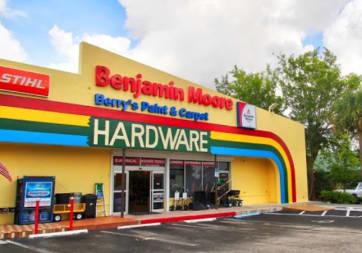 Berry's Paint, Hardware & Flooring - 896 N Homestead Blvd, Homestead, FL 33030