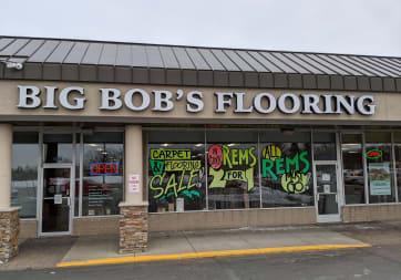 Big Bob's Flooring - 1023 E Moore Lake Dr, Fridley, MN 55432