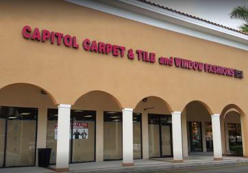 Capitol Carpet & Tile and Window Fashions - 2450 PGA Boulevard, Palm Beach Gardens, FL 33410