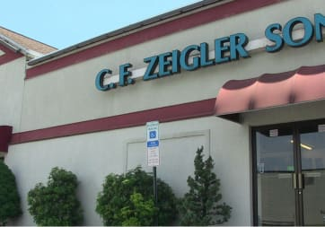 CHARLES F. ZEIGLER SONS, INC. - 1110 W Elm Ave, Hanover, PA 17331
