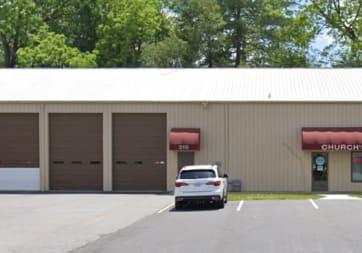 Church's Carpet - 310 1st Ave SE, Hickory, NC 28602