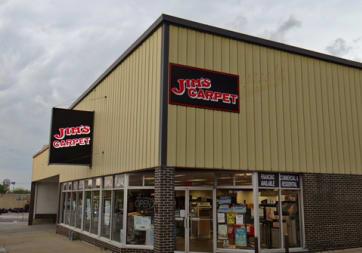Jim's Carpet & Supplies, Inc. - 308 Court St, Beatrice, NE 68310
