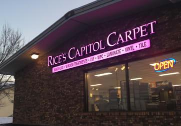 Rice's Capitol Carpet  - 1313 W Veterans Pkwy, Marshfield, WI 54449