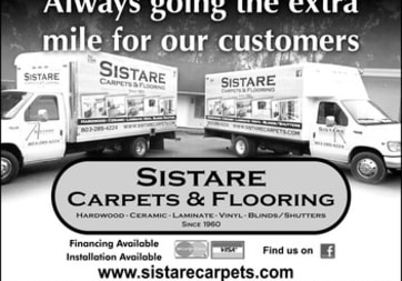 Sistare Carpets Inc. - 1743 Great Falls Hwy, Lancaster, SC 29720