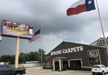Spring Carpets - 23220 Interstate 45 N, Spring, TX 77373