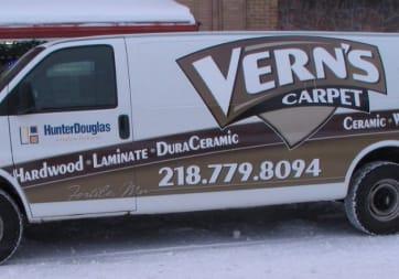Verns Carpet - 202 N Mill St, Fertile, MN 56540