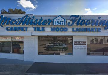 Mcalister Carpet & Tile - 521 Ballough Rd, Daytona Beach, FL 32114
