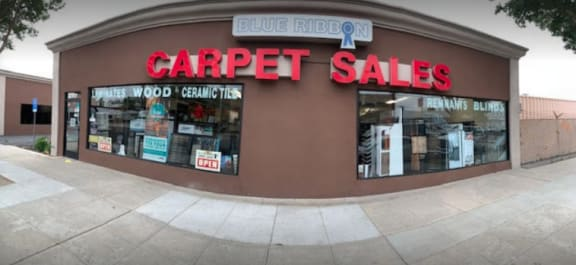 Blue Ribbon Carpet Sales, Inc. - 317 N Victory Blvd Burbank, CA 91506