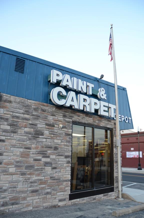 Paint & Carpet Depot - 520 N Main St Evansville, IN 47711