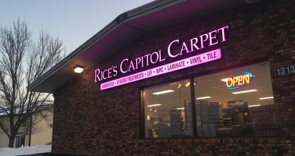 Rice's Capitol Carpet  - 1313 W Veterans Pkwy Marshfield, WI 54449