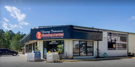 Young Interiors Flooring Center - 1830 Hwy 9 E Longs, SC 29568