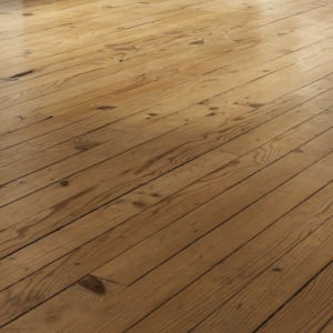 light brown, thin width solid hardwood flooring
