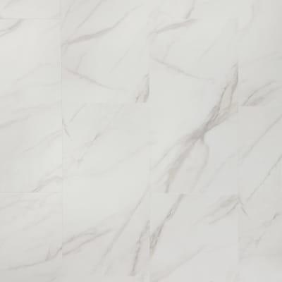 Adura Flex Tile in Legacy White With Beige - Vinyl by Mannington