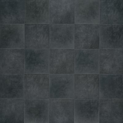 Adura Flex Tile in Villa  Coal - Vinyl by Mannington