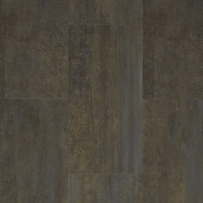Adura Flex Tile in Graffiti Patina - Vinyl by Mannington