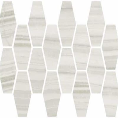 Onyx in Milk Natural  Elongated Hexagon - Tile by Happy Floors