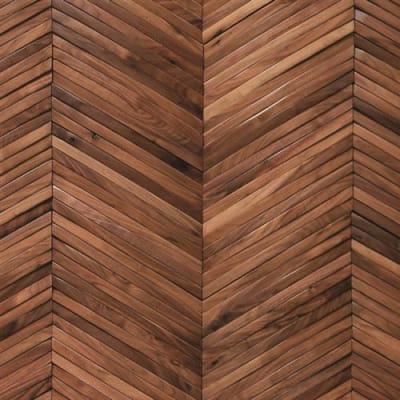 Inceptiv  Ark Chevron in American Walnut - Hardwood by DuChateau