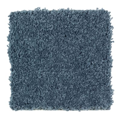 Intriguing Array in Blue Ribbon - Carpet by Mohawk Flooring