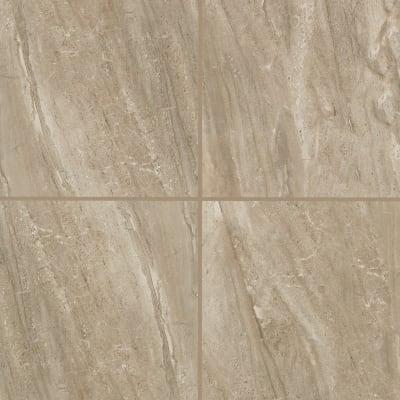Bertolino  Bullnose  3 X12 Gloss  30 Per Case in Nocino Travertine - Tile by Mohawk Flooring