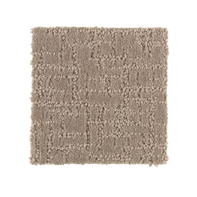 Chiseled Notion in Tahoe Taupe - Carpet by Mohawk Flooring