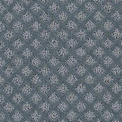 Mont Blanc 12' in Blue Lagoon - Carpet by Lexmark Carpet