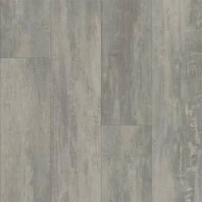 Luxe Plank With Rigid Core in Concrete Structures  Soho Gray - Vinyl by Armstrong