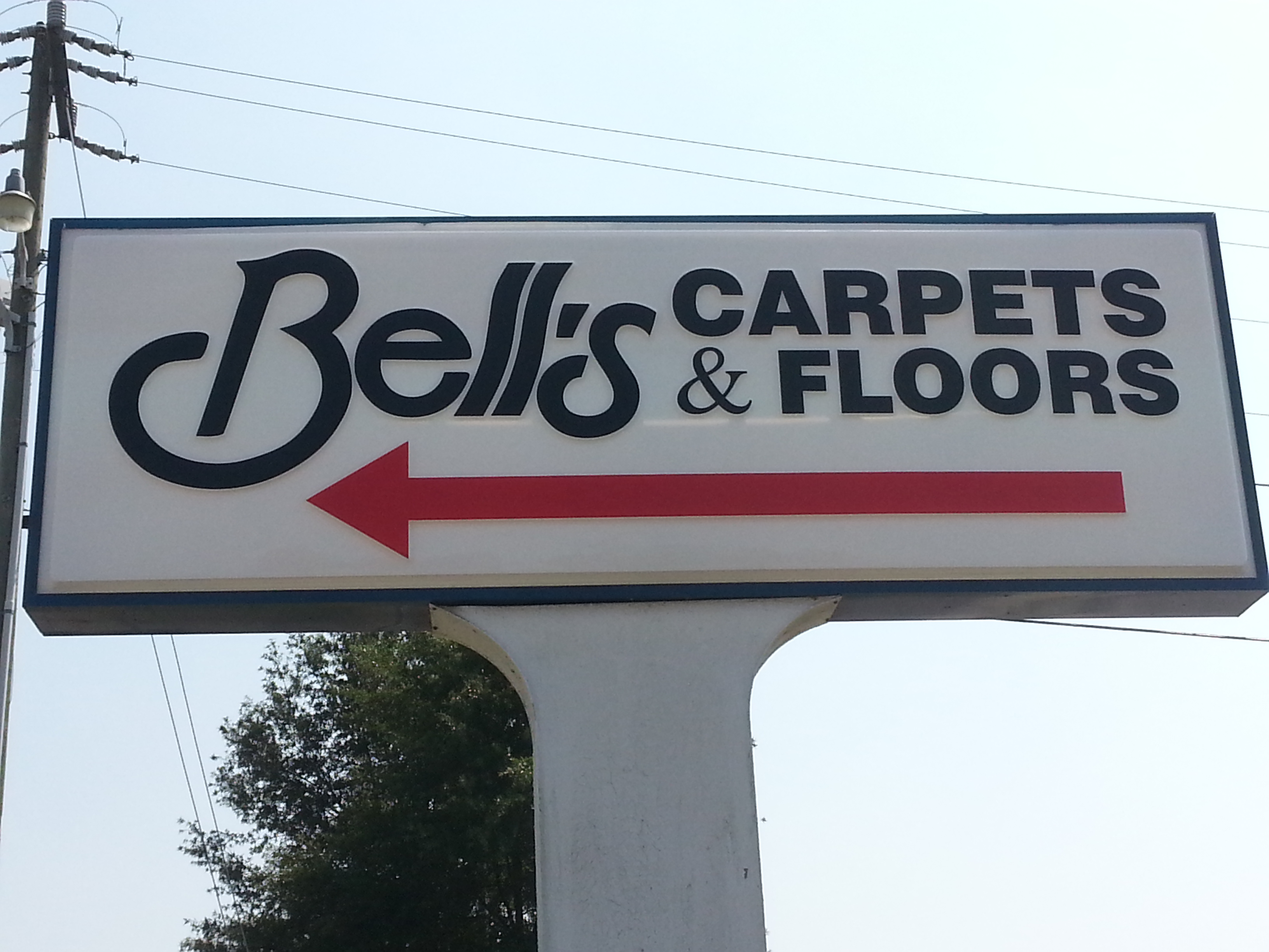Bells Carpets - 2828 Industrial Dr, Raleigh, NC 27609
