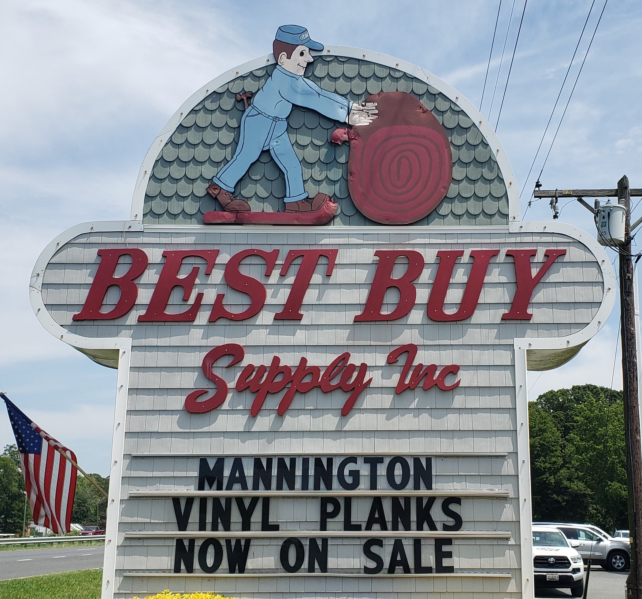 Best Buy Supply Inc - 3001 Ocean Gateway, Cambridge, MD 21613