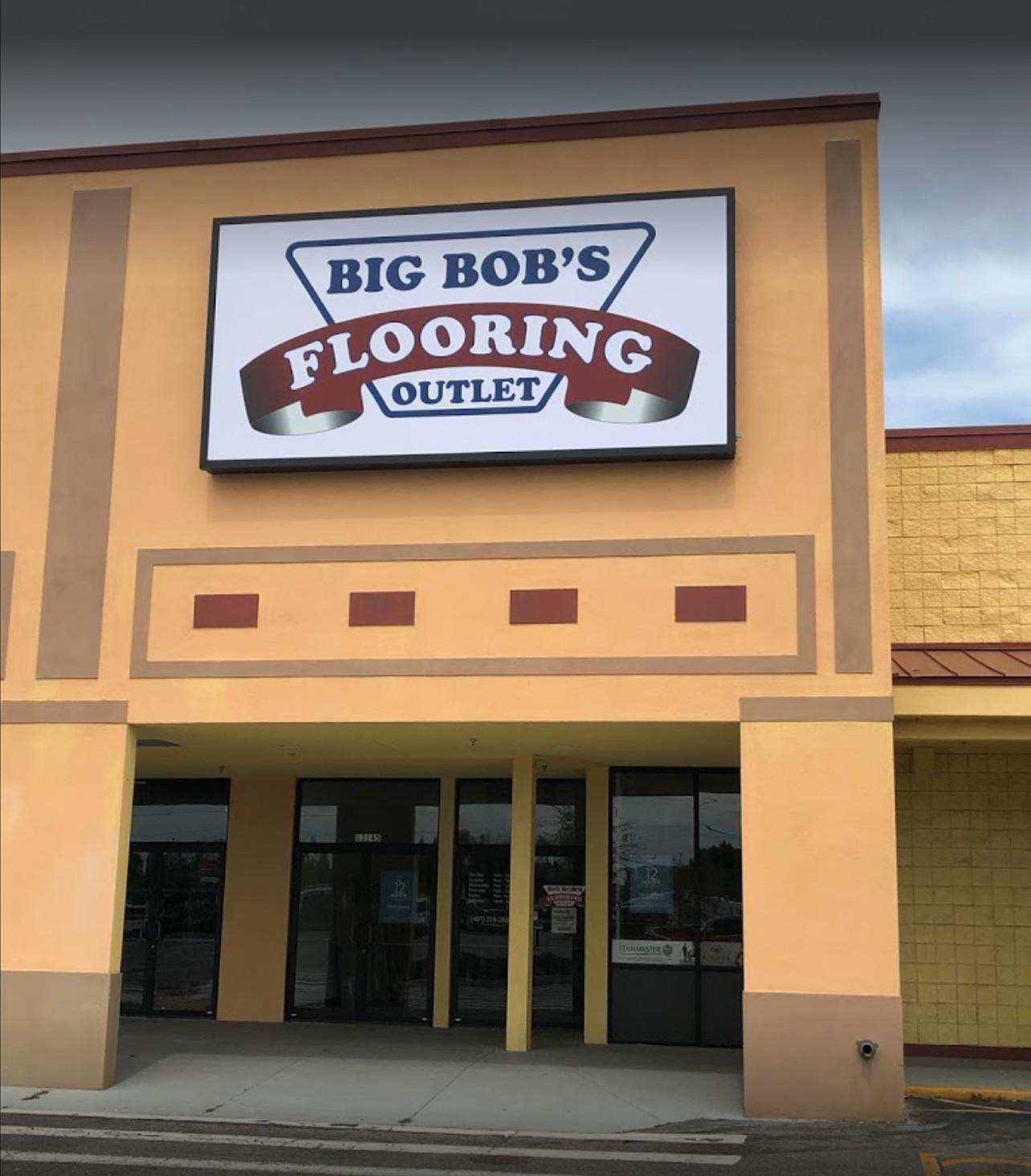 Big Bob's Flooring Outlet - 13145 W Colonial Dr, Winter Garden, FL 34787