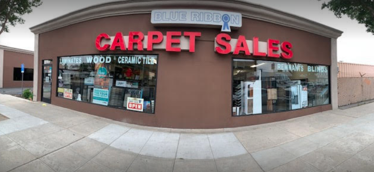 Blue Ribbon Carpet Sales, Inc. - 317 N Victory Blvd Burbank, CA 91506
