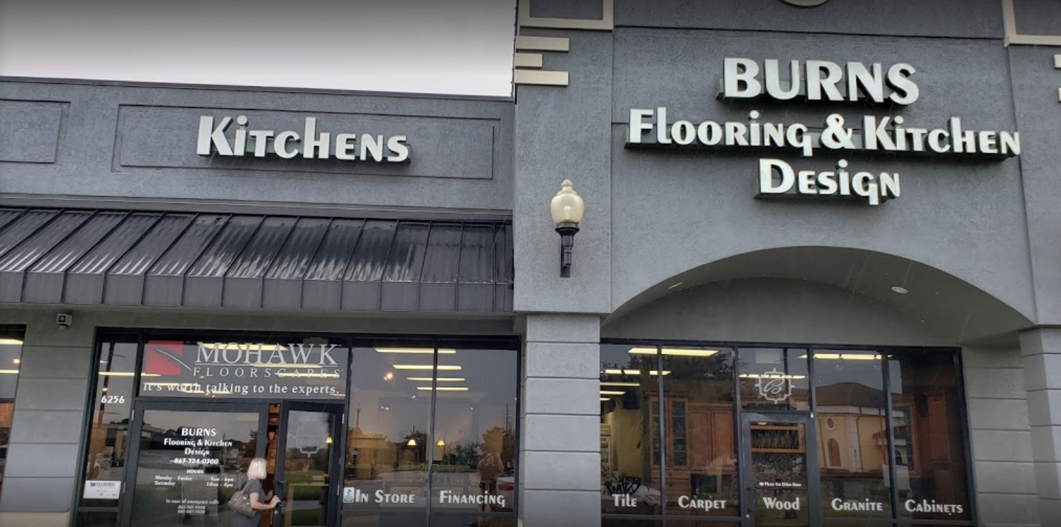Burns Flooring & Design - 10 Spirit Lake Rd, Winter Haven, FL 33880