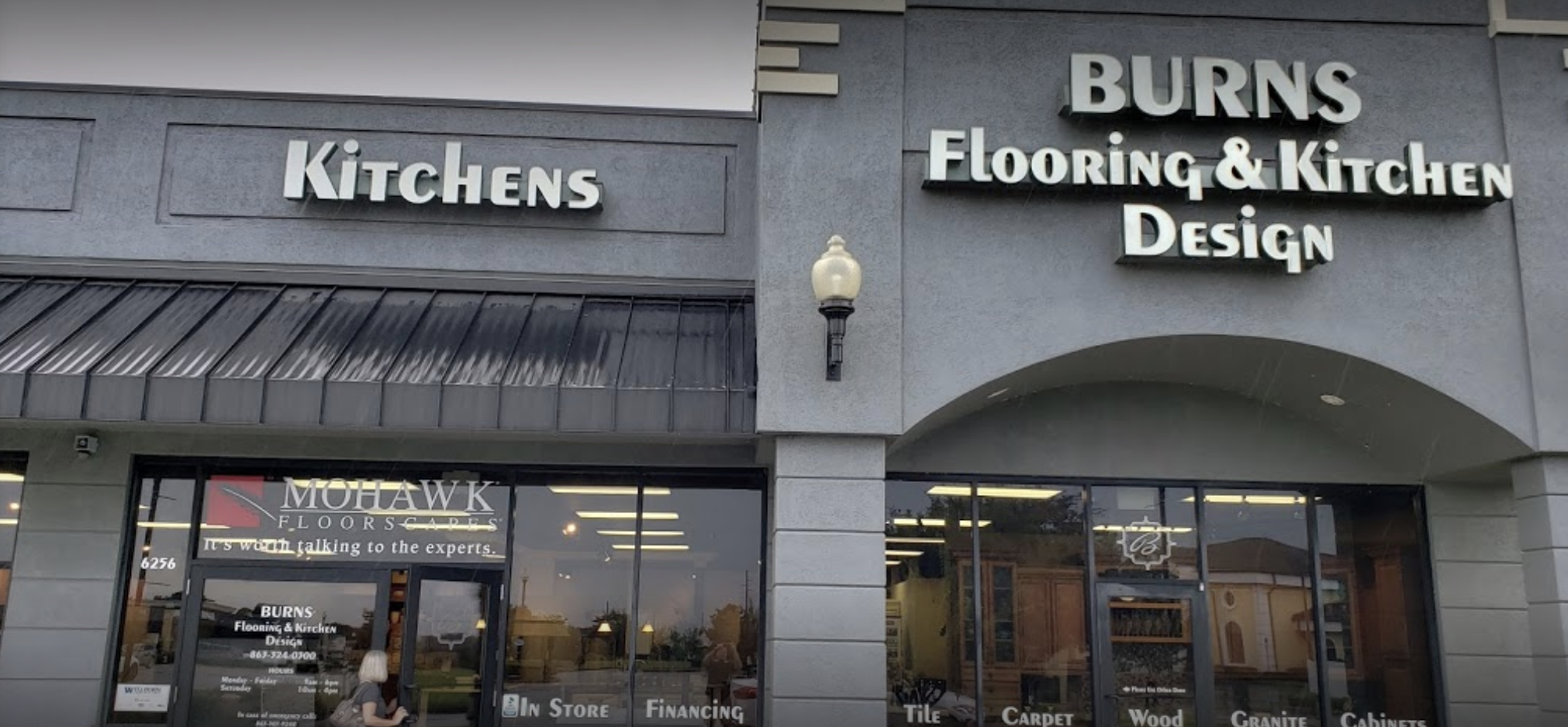 Burn's Flooring & Kitchen Design - 6256 Cypress Gardens Blvd, Winter Haven, FL 33884