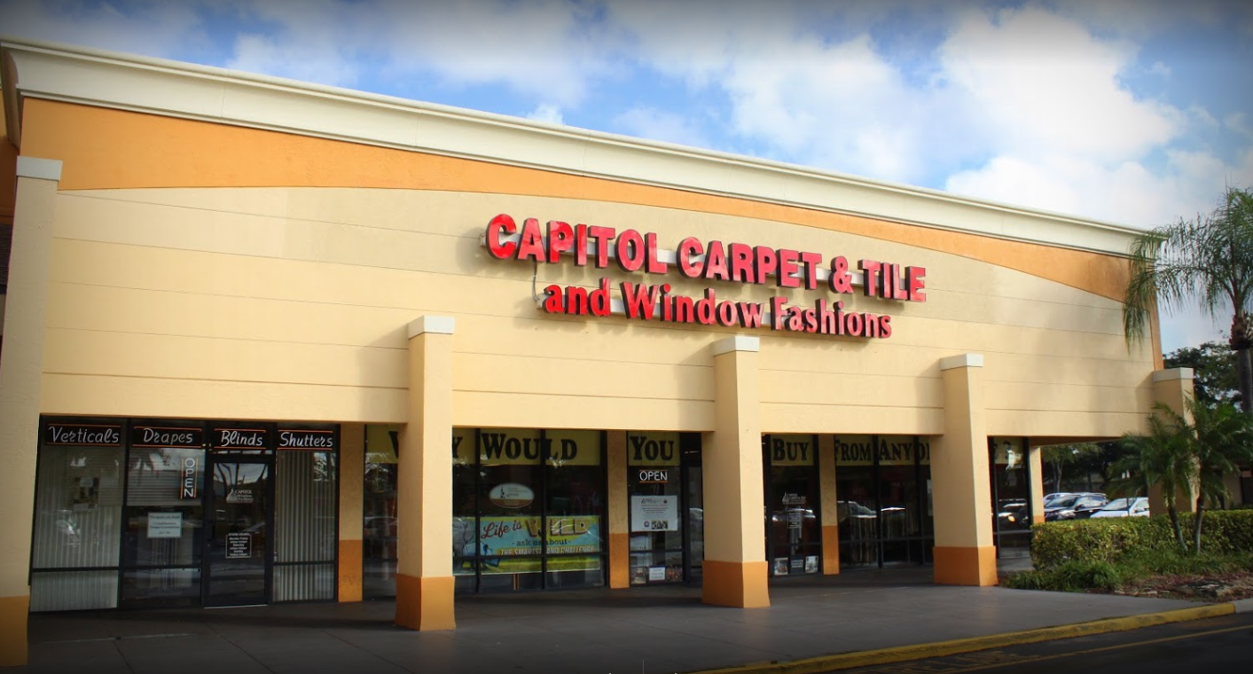 Capitol Carpet & Tile and Window Fashions - 9825 Glades Rd Boca Raton, FL 33434