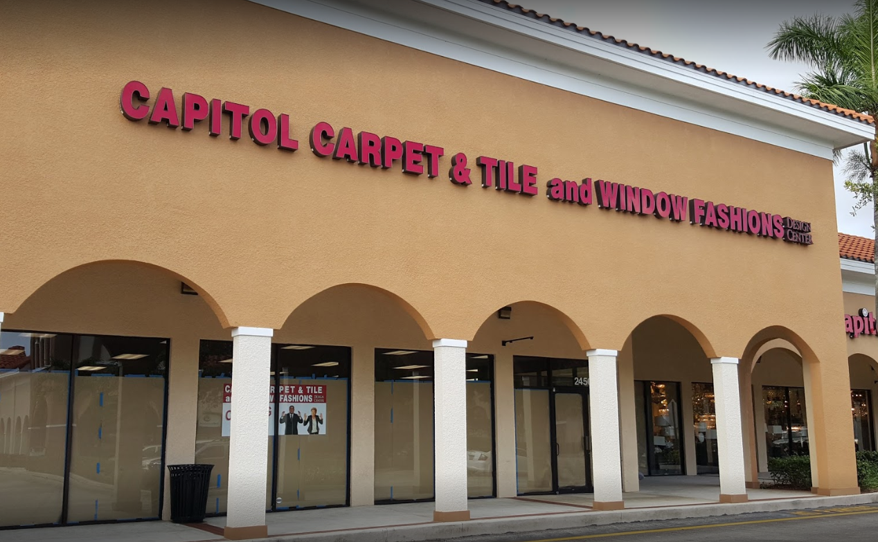 Capitol Carpet & Tile and Window Fashions - 2450 PGA Boulevard, Palm Beach Gardens, FL 33410