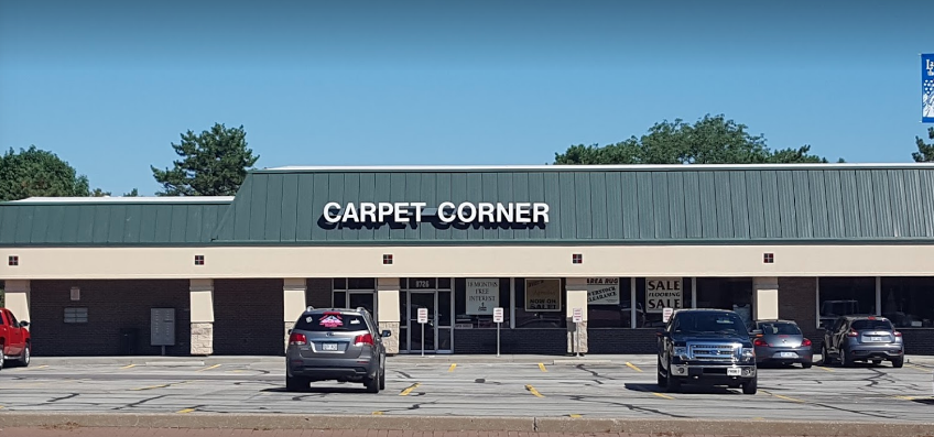 Carpet Corner store front