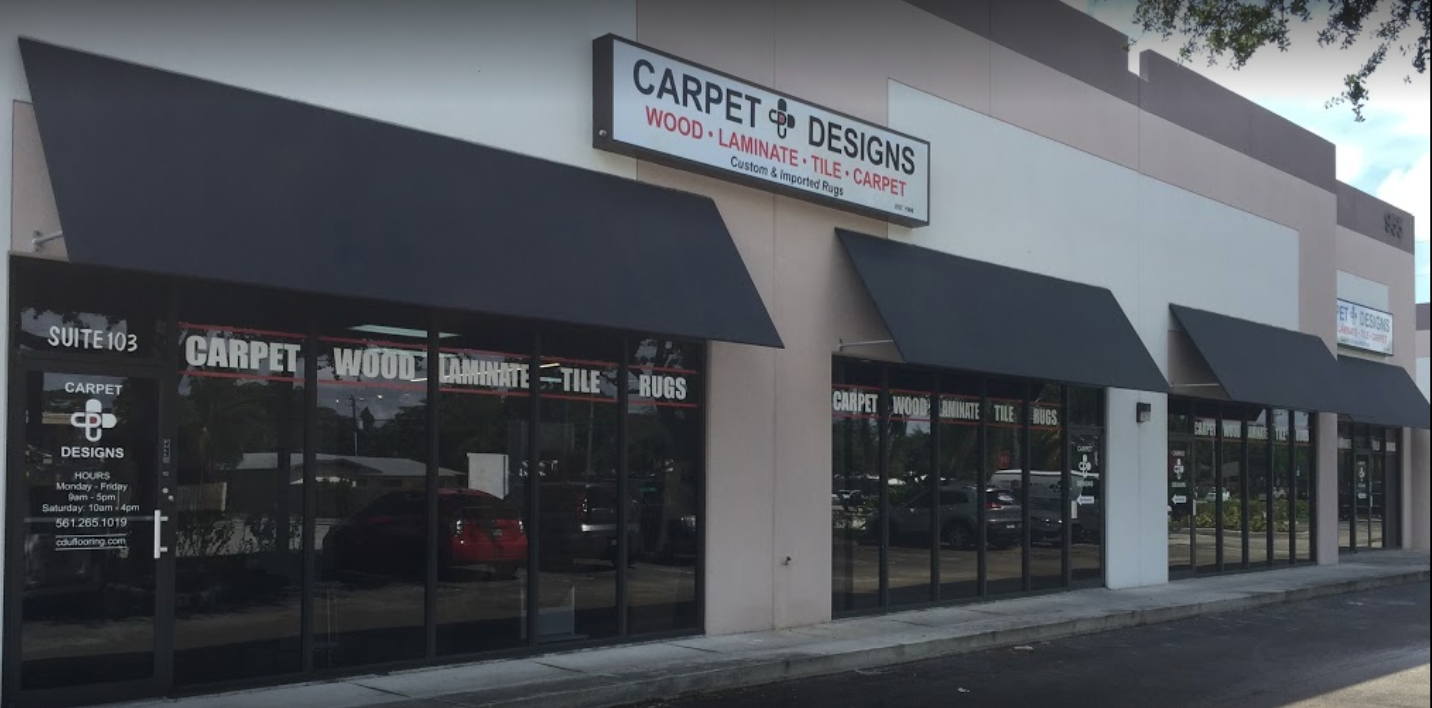 Carpet Designs Unlimited - 955 S Congress Ave, Delray Beach, FL 33445