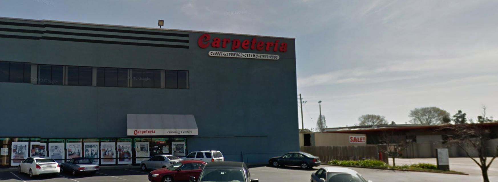 Carpeteria Flooring Centers store front