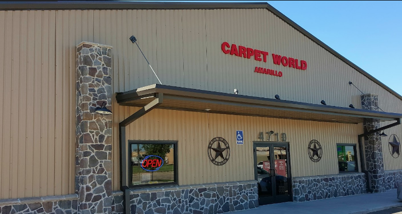 Carpet World of Amarillo - 4710 Bell St, Amarillo, TX 79109