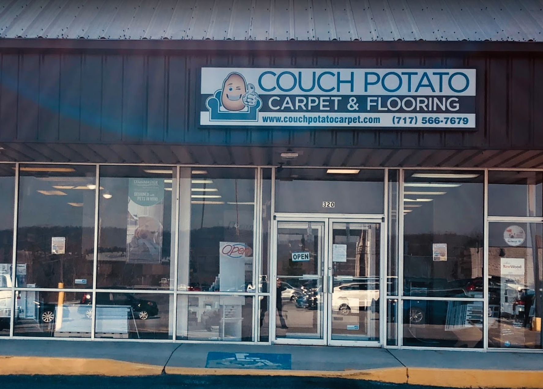 Couch Potato Carpet And Flooring - 320 Newberry Commons, Goldsboro, PA 17319