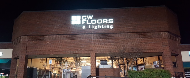 CW Floors and Lighting - 439 I-30, Rockwall, TX 75087