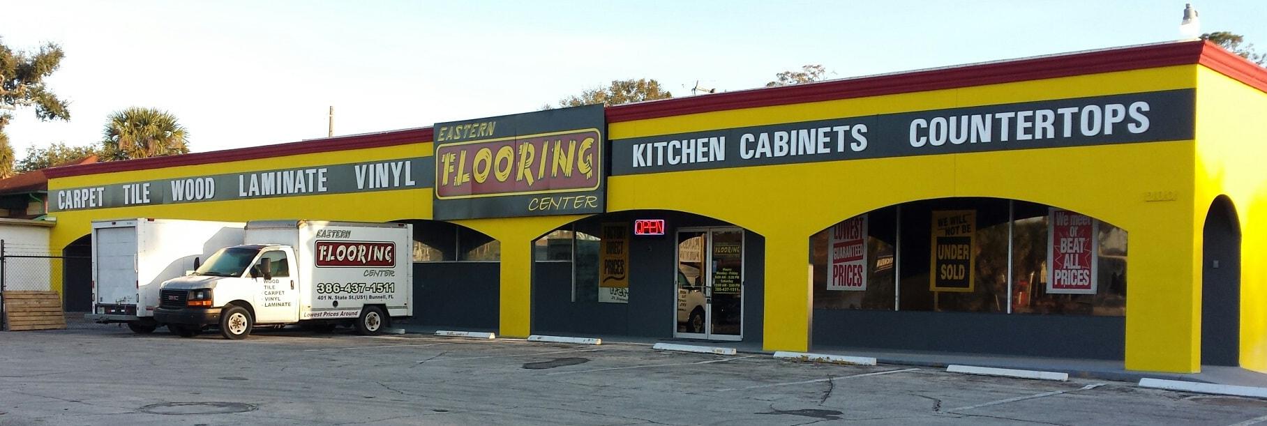 Eastern Flooring Center - 401 N State St, Bunnell, FL 32110